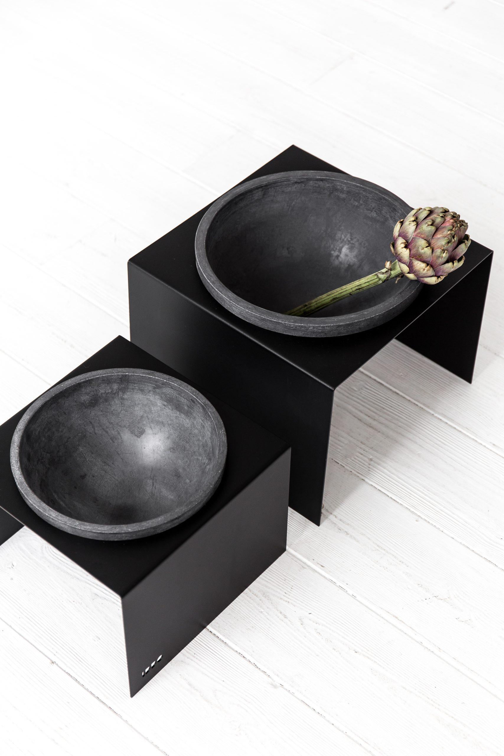 Vazonas Stand&bowl, tamsus