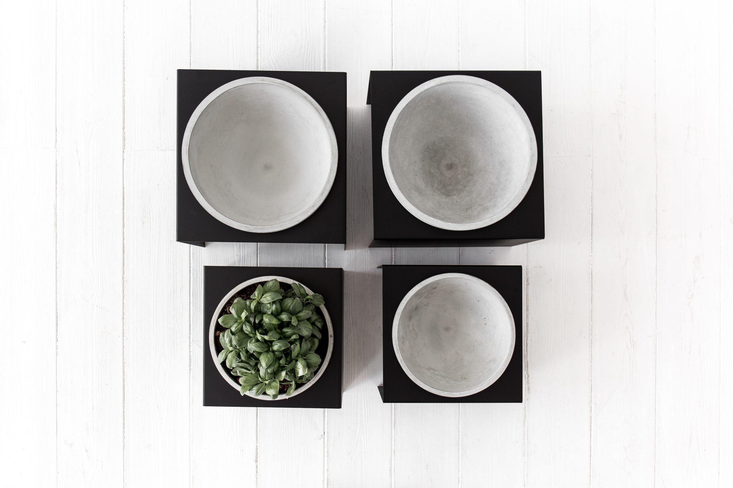 STAND&bowl vazonas, šviesus